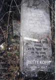 Blima KOPP(Betti KOPP) daughter of Zev & wife of Tzvi KOPP