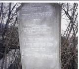 Reizel Devora daughter of R'Efraim SEGAL wife of Yakov Pinchas KRISCHER Died: 5624/1864