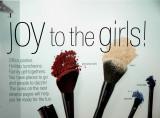 Joy to the girls
