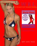 WML Model Levea Velde Poster  Captain Sydney Syrens Australia