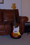 SX SJB-62 4+1 Fretless (60's Jazz copy)