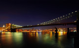 Brooklyn bridge 3 shots panoramic