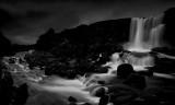 Oxararfoss waterfall Iceland