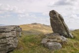 CRW_01194.jpg View of Brown Willy from Rough Tor - Bodmin Moor - © A Santillo 2004