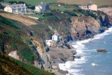 A_659_V_75.jpg View from the SW Coast Path looking back towards Beesands and Hallsands - © A Santillo 1997