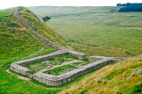 A_589_R_64-Edit.jpg Hadrian's Wall Castle Nick - Milecastle 39 looking West - © A Santillo 1993