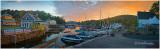 September Dawn at Sunapee Lake Harbor, NH