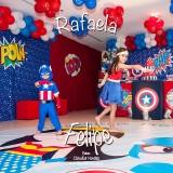 Rafaela e Felipe Accioly Peloso