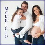 Júlia, Maurício e Valentina