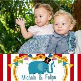 Michele e Felipe Tavares