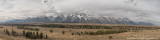 Teton range 9 image panoramic