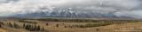 Grand Teton Range panoramic