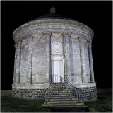 Mussenden Temple by night