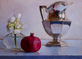 Pomegranate and Pitcher 14 x 19