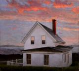 Stonington Sunset 12 1/2 x 16 3/4