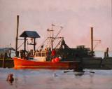Monhegan Harbor 15 x 19