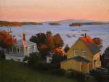 Stonington, twilight