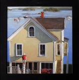 house painter, Stonington 15 3/4 x 15 1/4