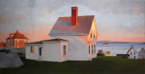Evening, Stonington 20 x 39