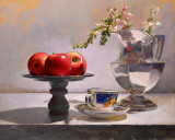 on the easel...apples 18 x 22.5