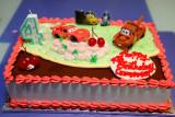 Celebrating Cameron's 4th Birthday at Home