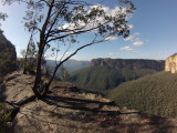 Grose Valley -Near Evans lookout, Blue Mountains