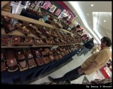 Wooden cars for sales in the shopping mall
