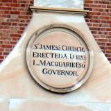 St James Church - foundation stone