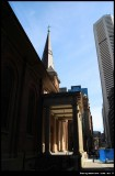 St James Spire and MLC tower in Sydney CBD