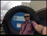 Wollongong Science Centre - Big Tyre