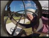Selfie - at the Sundial