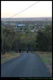 Peak hill - this is the hill (10 deg gradient)