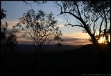 Zig Zag track sunset