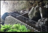 Lucas cave entrance stairs