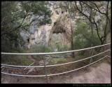 Charlotte Arch and Blue Lake at Jenolan Caves