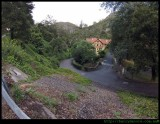 Jenolan Caves house and road