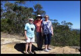 Kevin Sue and June at Mt Piddington