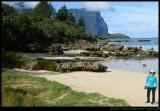 Settlement Beach - looking south