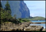 Southern end of Lord Howe Island
