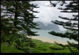 Lord Howe Island Airport  - Mt Lidbird and Gower