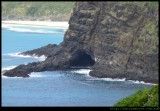 Lord Howe Island - at Clear place looking south into caves