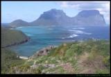 Mt Eliza lookout, Lord Howe Island
