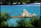 Lord Howe Island - rock formation in main lagoon