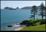Lord Howe Island Lagoon and Mt eliza