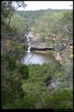 Mermaid pools Lookout - Bargo river