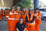 City to Surf race 2015 - Campbelltown SES members