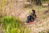 Resting by Grenadier Pond