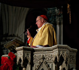 Cardinal Dolan - Midnight Mass 2013 - St. Patrick's Cathedral #4