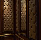 Inside an elevator
