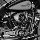 Harley Davidson Police Electra Glider - Color version below.